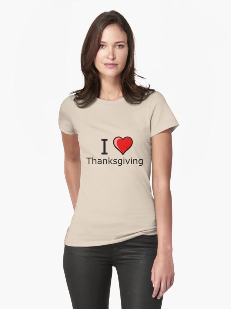 i love Thanksgiving Turkey day  by Tia Knight