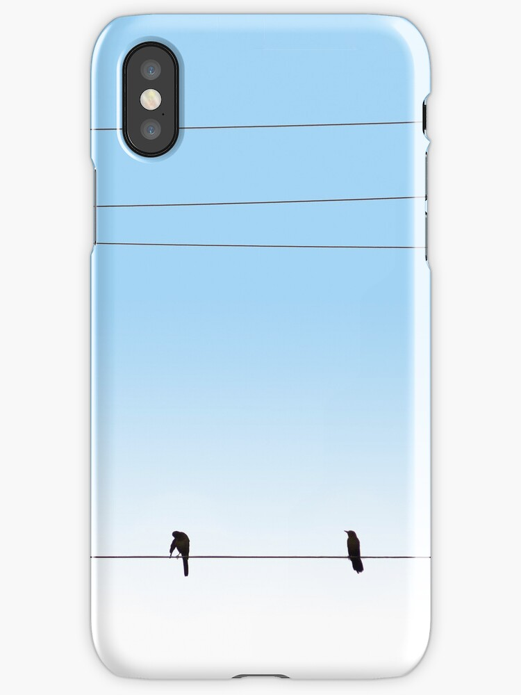 Morning Wire iPhone Case by Richard G Witham