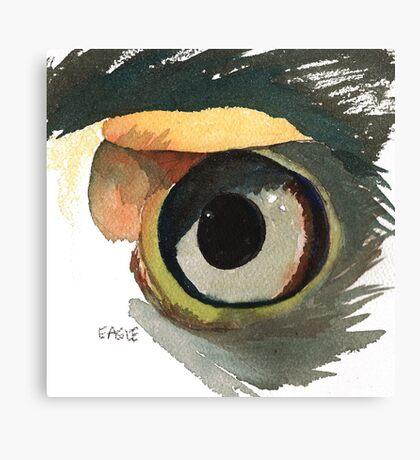 Eagle's Eye Canvas Print