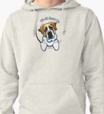 Saint Bernard :: Its All About Me Pullover Hoodie