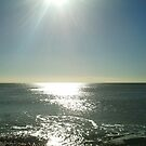 Sun over the sea by Eddie Nock