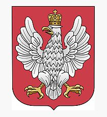 Coat of Arms of the Second Polish Republic, 1919-1927 Photographic Print