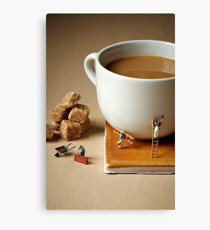 Builders tea Canvas Print