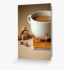 Builders tea Greeting Card