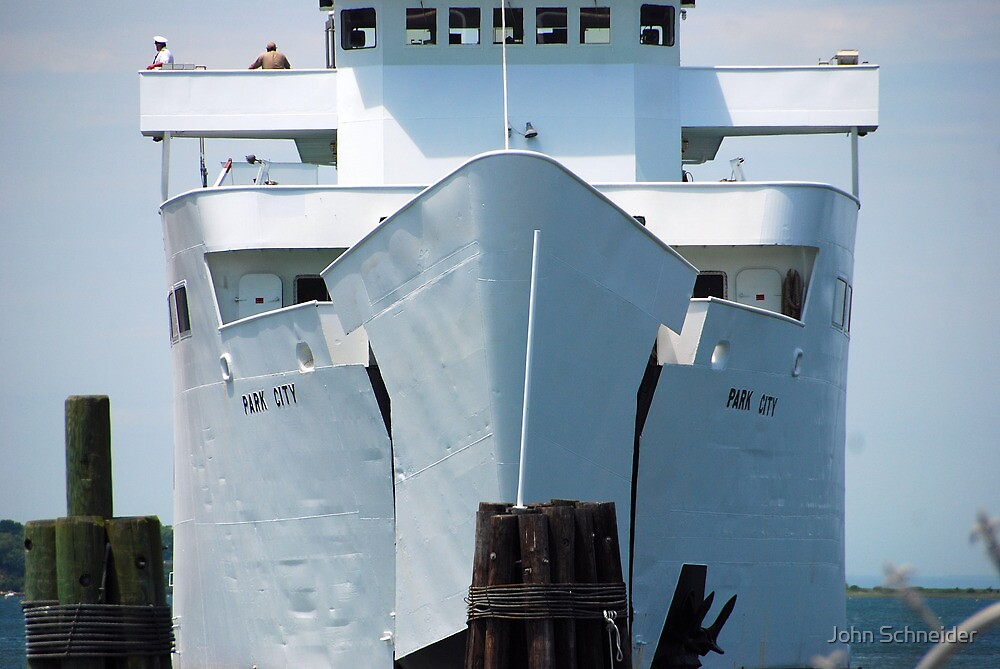 "Ferry: "" M/V Park City"" by John Schneider"