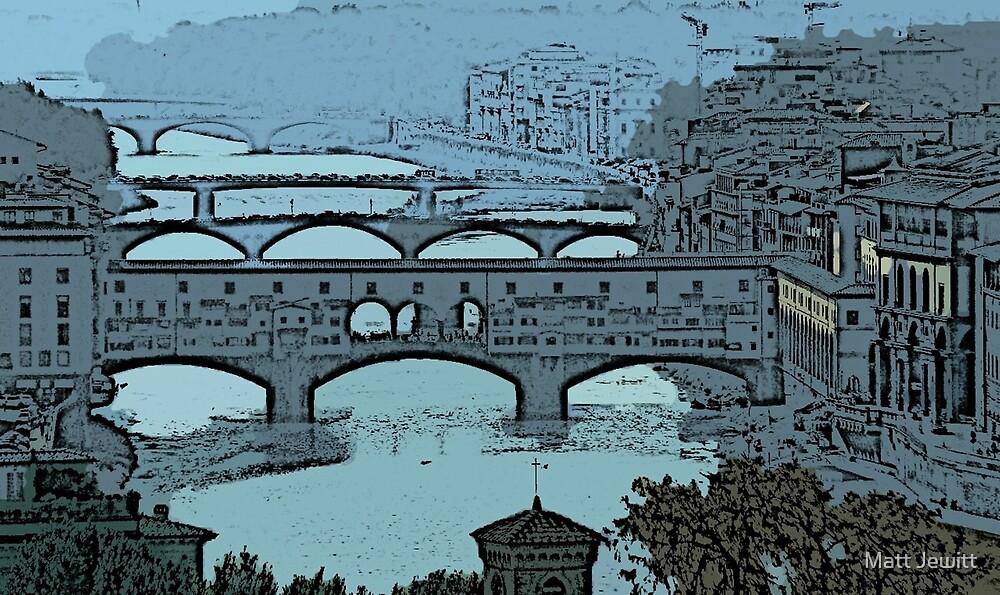 'Ponte Vecchio Blue' by Matt Jewitt