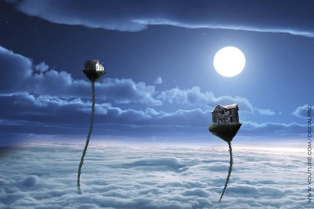 Above The Sky by DigitalPSD