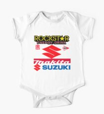 Rockstar Energy Makita Yoshimura Suzuki Racing Team One Piece - Short Sleeve