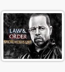 Fin Tutuola from Law and Order svu Sticker
