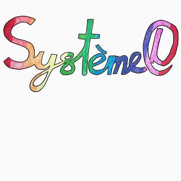 Systeme D T-shirt by fandango-design
