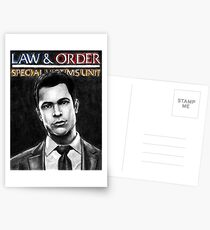 Nick Amaro from Law and Order svu Postcards