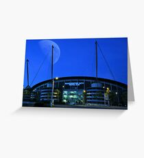 The City of Manchester Stadium Greeting Card