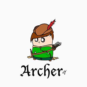 The Archer by CL4P-TP