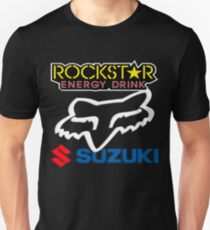 Rockstar Energy Suzuki Fox Racing Team T-Shirt