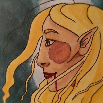 Pretty Girl? by inktlion