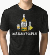 Funny Mexican Tri-blend T-Shirt