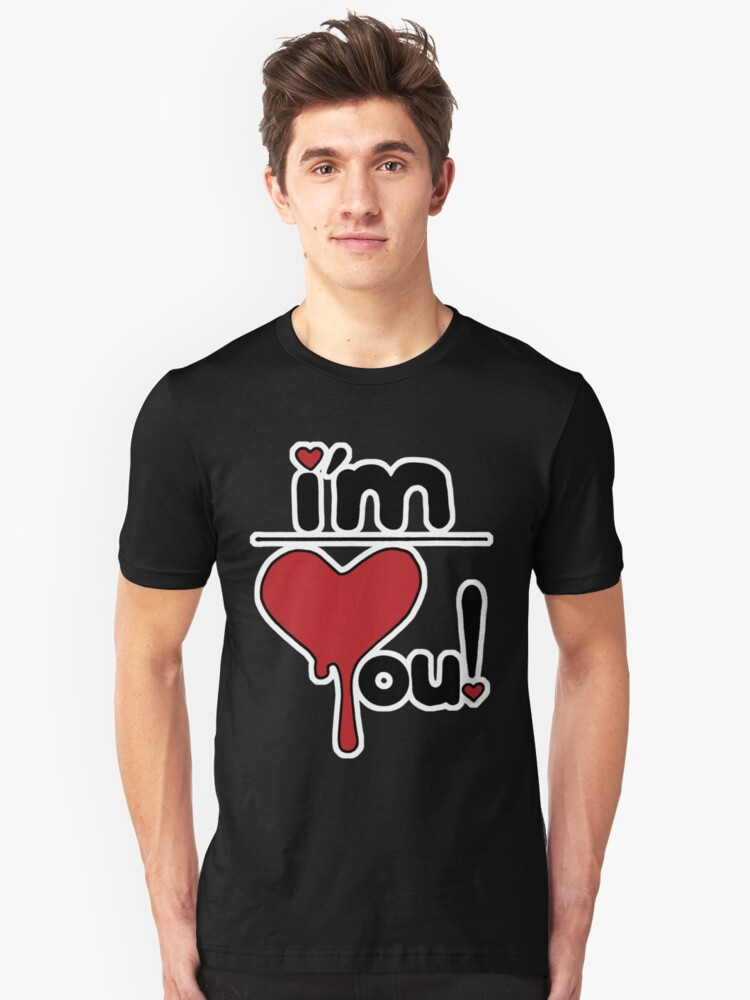 i'm over you! Unisex T-Shirt Front