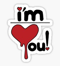 i'm over you! Sticker
