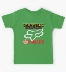 Rockstar Energy Yamaha Fox Racing Kids Tee