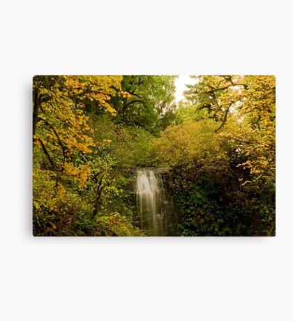 Autumn At Upper Terrace Canvas Print
