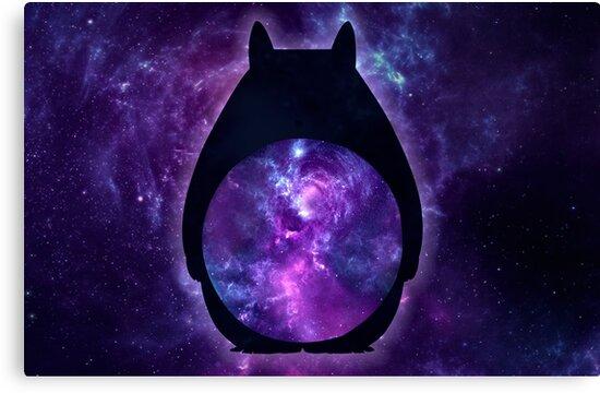 Deep Space Totoro by Chloe Morris