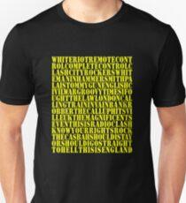 Clash Discography T-Shirt