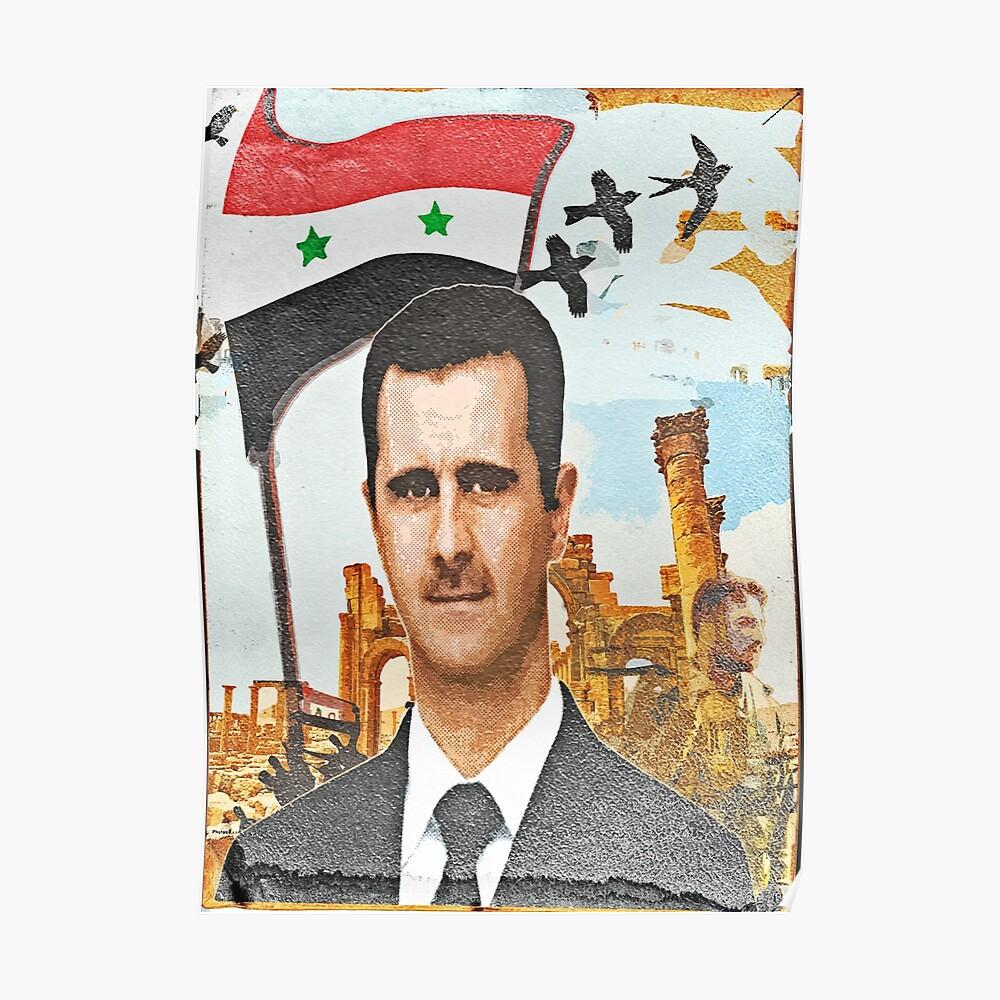 Still Stehen - Syrien Al Assad Poster
