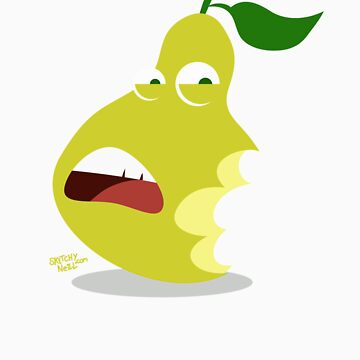 Pear of Chompers by dinoneill