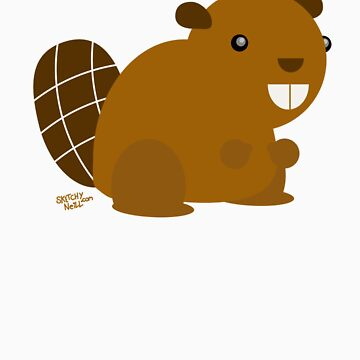Canada Beaver by dinoneill