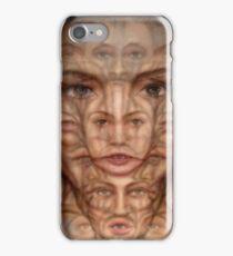 Schizophrenia Synesthesia iPhone Case/Skin