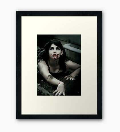 Is this it... Framed Print