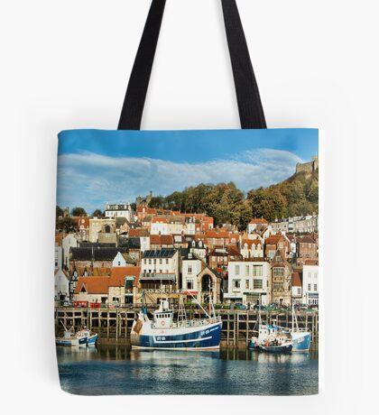 Scarborough Harbour Tote Bag
