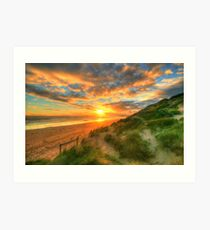 Ocean Grove Sunset Art Print