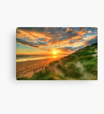 Ocean Grove Sunset Canvas Print
