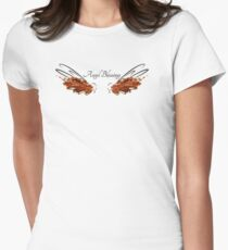 Archangel Gabriel: Angel Blessings  Womens Fitted T-Shirt