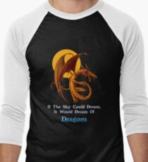 Dragon Dream Men's Baseball ¾ T-Shirt