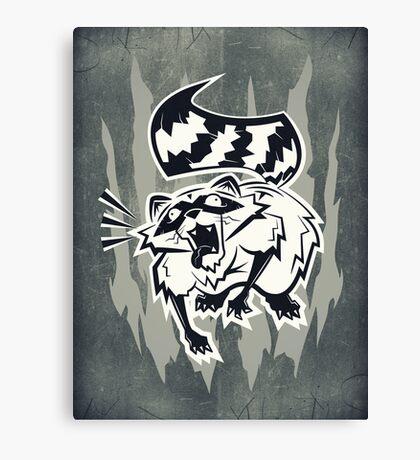 Rabid Canvas Print