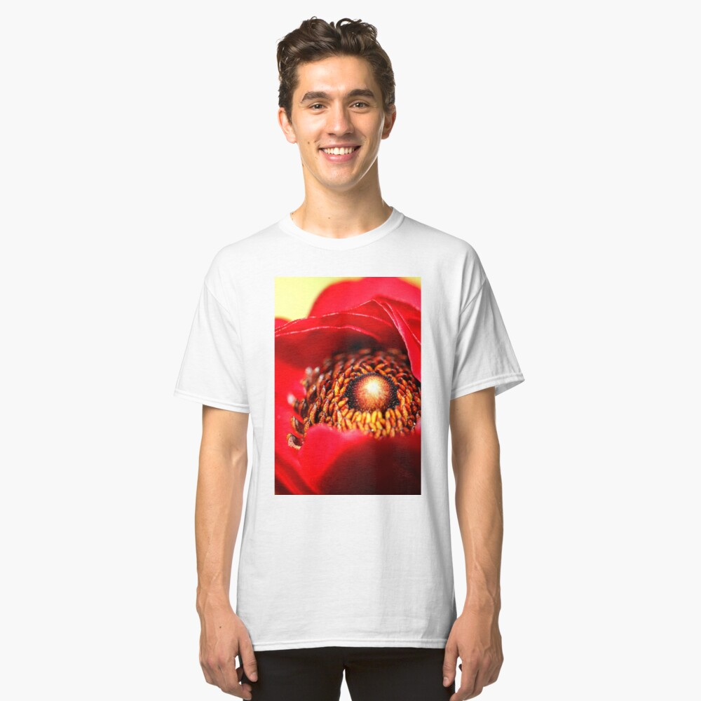 Refinement In Ruby Classic T-Shirt Front