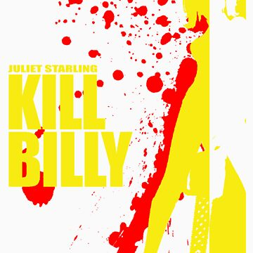 Kill Billy Shirt (Sticker in Description) by JoeyJojosWkyTrp