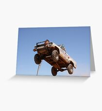 Riverland 4x4 Challenge 2012 Greeting Card
