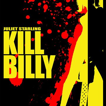 Kill Billy Sticker (Shirt in Description) by JoeyJojosWkyTrp