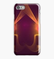 Yellow Orange and Red Spotlights iPhone Case/Skin