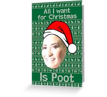 """""""POOT LOVATO CHRISTMAS MEME"""" Greeting Cards by Luckythelab ..."""