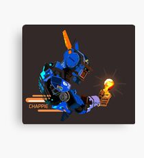 I am Chappie Canvas Print