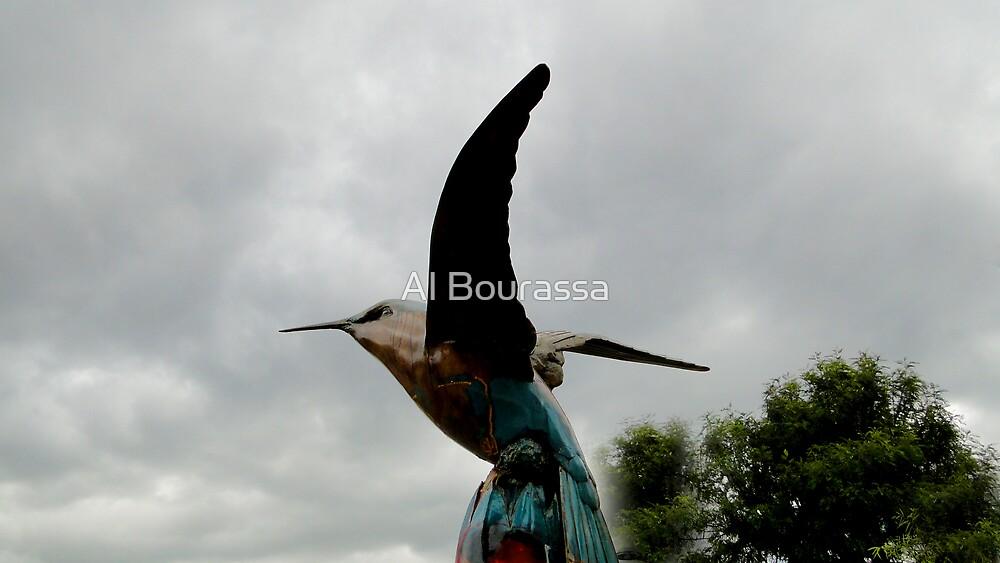 Hummingbird Art XVI by Al Bourassa