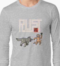 Rust players be like Long Sleeve T-Shirt