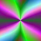 Rainbow Pinwheel 2 by pjwuebker