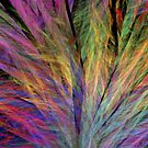 Rainbow Feather Duster by pjwuebker
