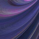 Purple Vortex Abstract by pjwuebker