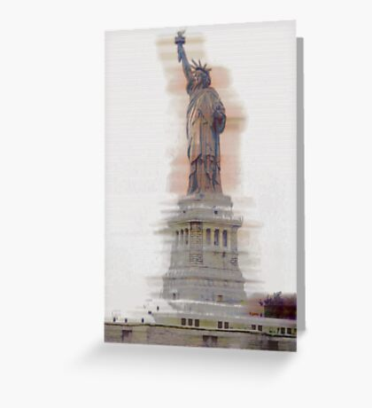 Lady Liberty #2 Greeting Card